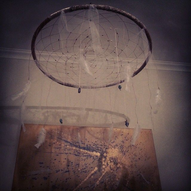 Giant Mobile Dream catcher and original artwork by Stardust Dreamer!! No bad dreams with this beautiful creation!!!   See more @ http://stardustdreamer.com.au/ https://instagram.com/stardustdreamer_/ https://www.facebook.com/stardustdreamer https://www.facebook.com/stardustdreamer