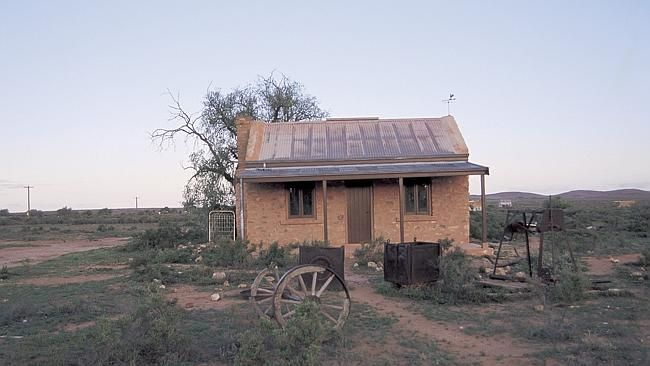Silverton, just outside Broken Hill, is a ghost town.
