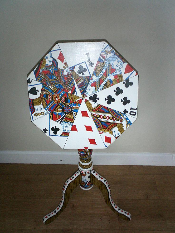 Folding Poker table Folding Poker TableHome StylePainted