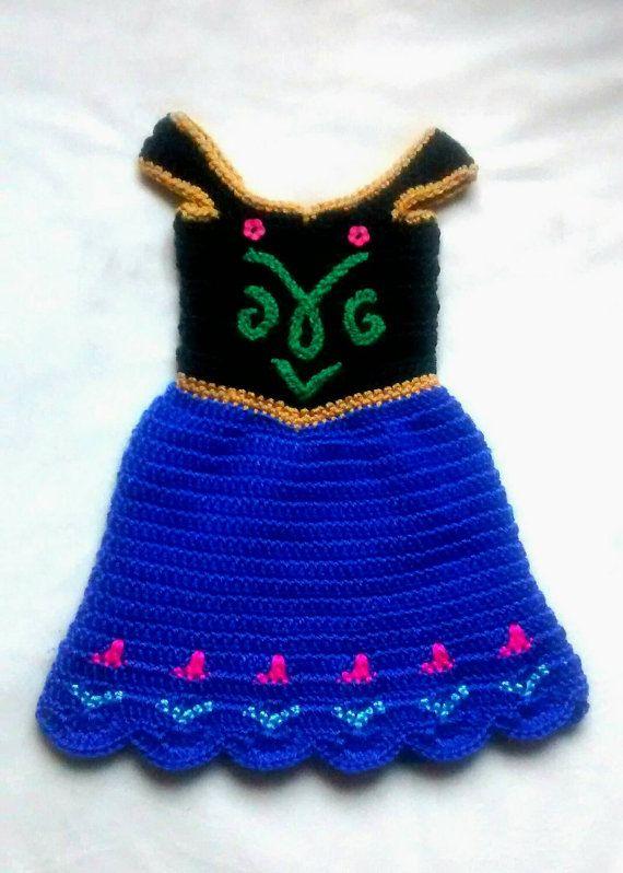 crochet Disney's Frozen 'Princess Anna' por momscrochetcorner
