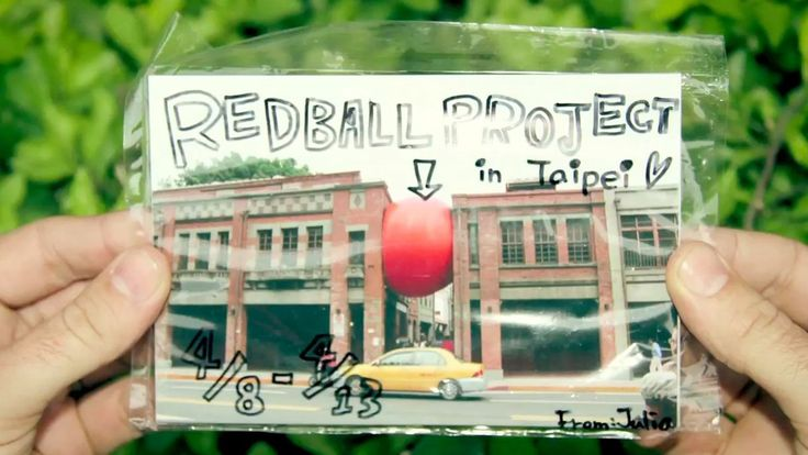 RedBall Taipei, documented by filmmaker Tony Gaddis. #redballproject