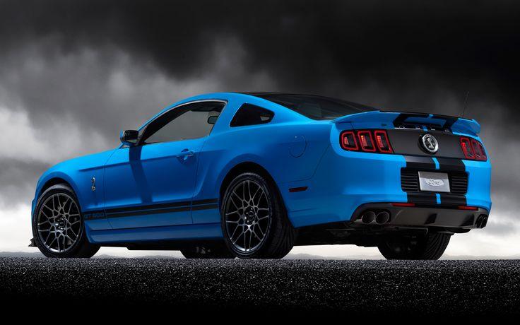 #Ford #Mustang Shelby Gt500 Rear Three Quarter