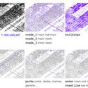 Free CAD Files of 241 Major World Cities Image of the layers in the New York CAD file via bdon.org