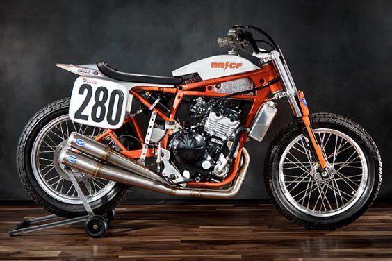 No. 280 Kawasaki Ninja 650R Flat Tracker  Rat River Cycle Fab