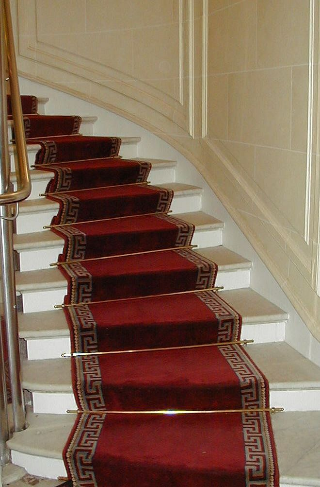 Best How To Use Stair Rugs On Stairs In 2020 Carpet Staircase 400 x 300