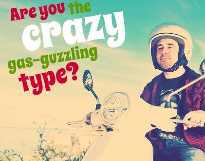 Save money on cars | Are you the crazy gas-guzzling type?