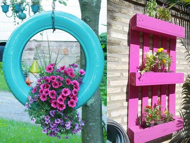 M s de 25 ideas incre bles sobre manualidades para adultos for Manualidades para jardin
