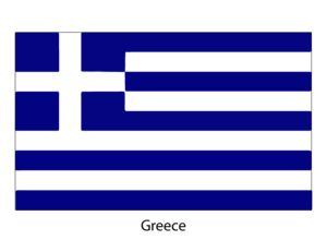 Printable World Flags - Greece    #Flags #Printables #Greece.   Got to have at least one flag in this category!