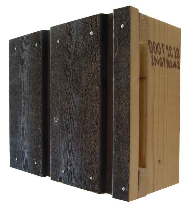 WaxedWood® Channelsiding fijnbezaagd rabat - duurzamheid >25j vgl Western Red Cedar hout 15-25j