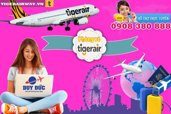 Phòng vé Tiger Air quận 5