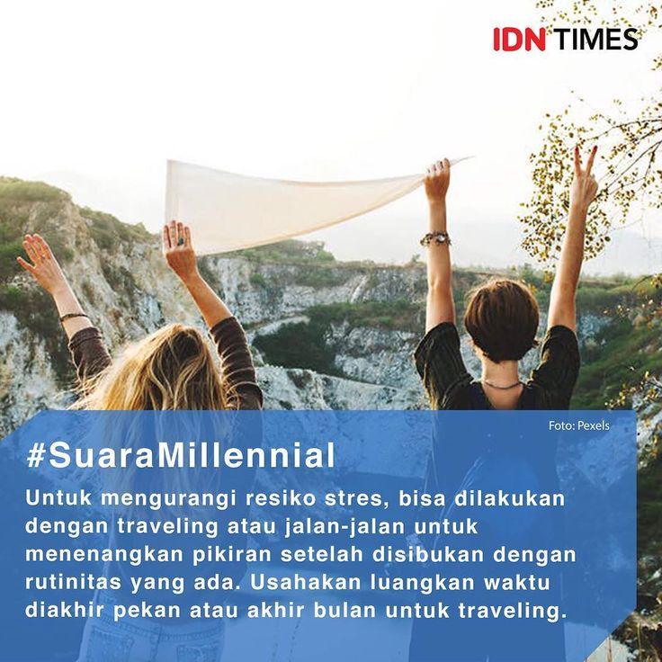 Yuk traveling! Follow @IDNTimes - The Voice of Millennials and Gen Z ------ Travelling merupakan salah satu kegiatan yang mampu memberikan efek relaksasi yang menyegarkan. Oleh karena itu, tak heran jika banyak orang yang menyempatkan waktu khusus untuk melakukan perjalanan dan mendapatkan kesenangan. Namun tidak hanya menyenangkan, travelling juga ternyata memiliki manfaat untuk pikiran dan juga tubuh tetap bugar. (Sumber: #IDNTimesCommunity / Farhana) ------ Jangan lupa follow juga…