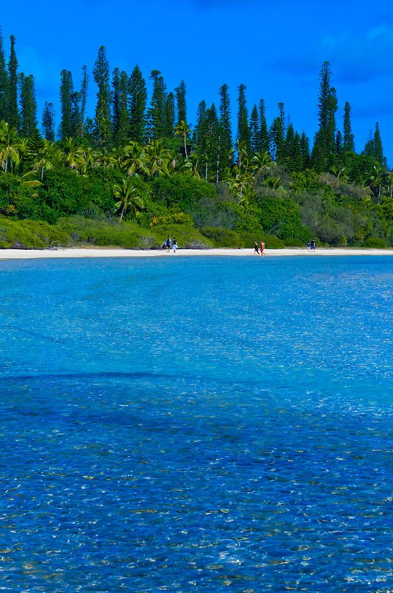 Natural swimming pool, #Oro Bay, near the Le Meridien Isle of #Pines (Ile des Pins), New Caledonia