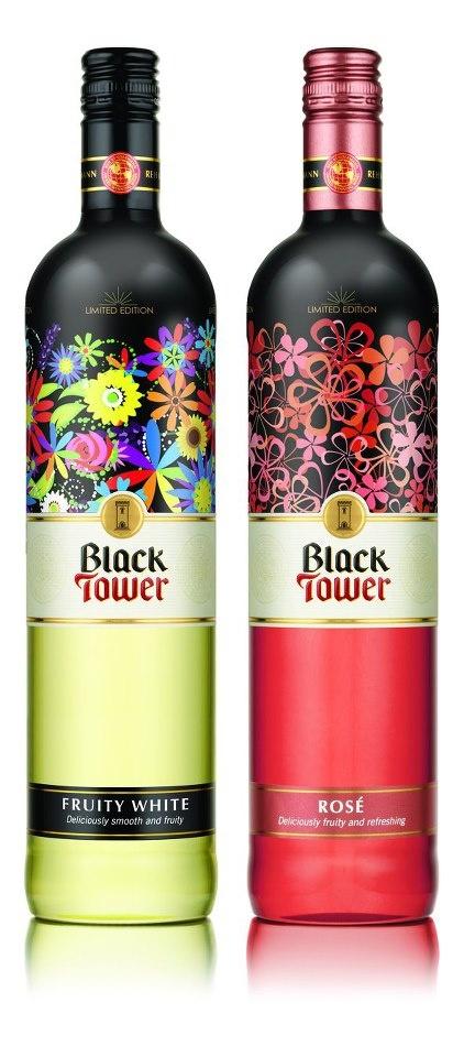 Black Tower wine