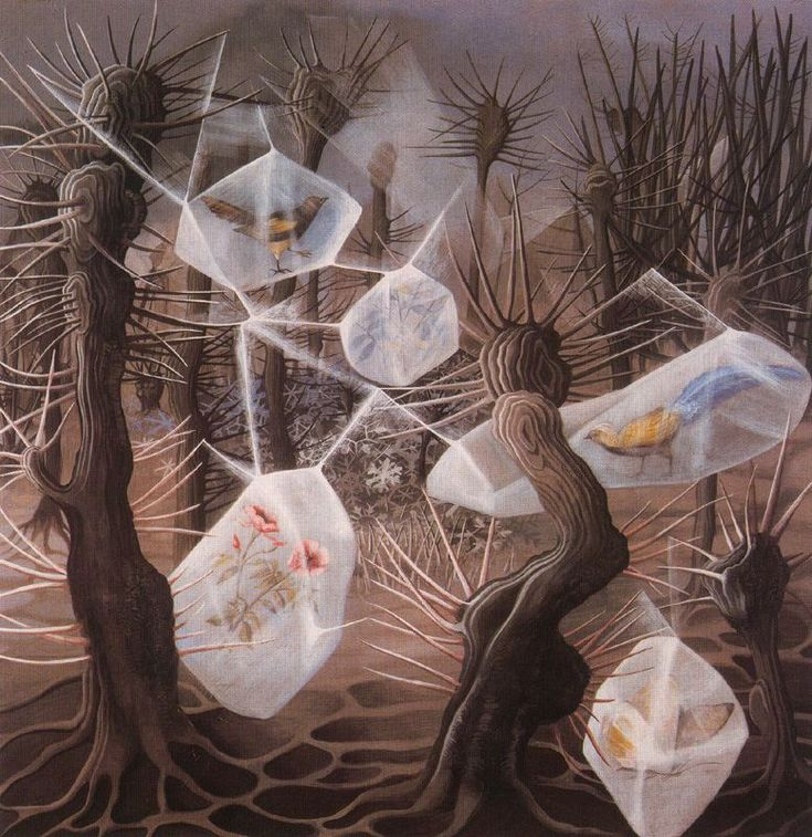 Remedios Varo - one of many brilliant paintings by Remedios.   Worth researching.