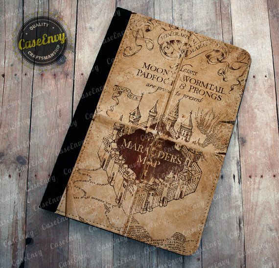 Harry Potter Inspired Marauders Map Kindle Fire HD 7 in ...