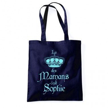 Cadeau malin: Tote bag personnalisé maman