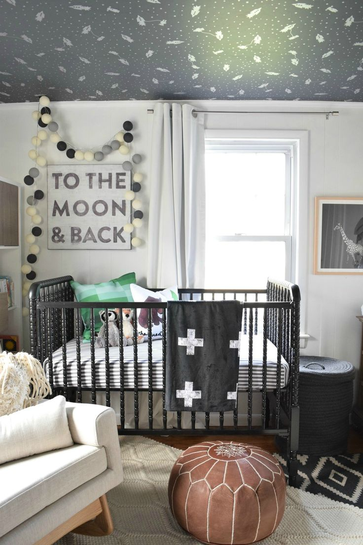 Best 17 Best Images About Black And White Nursery On Pinterest 640 x 480
