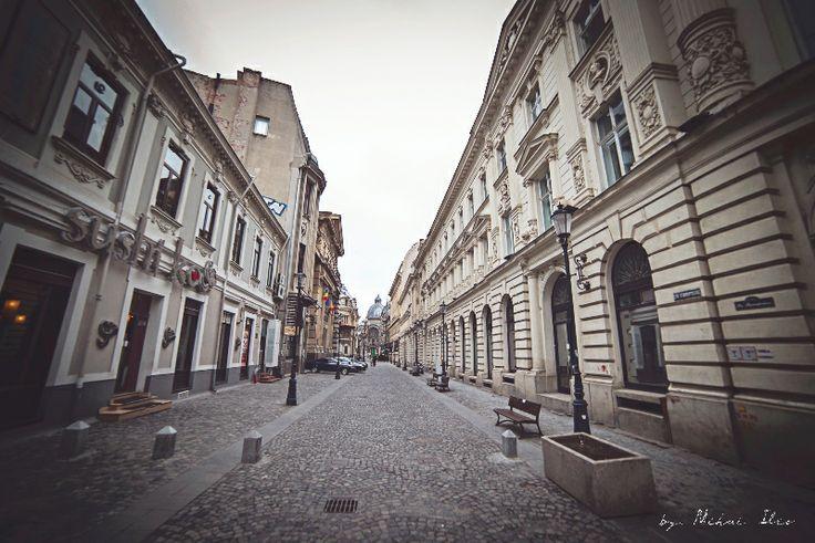 Str. Stavropoleos - Centrul Vechi Bucuresti. Stavropolos street - Old City, Bucharest