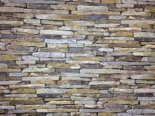Absolutely Stunning Realistic Dry Stone Wall Brick Effect Feature Wall Wallpaper   eBay