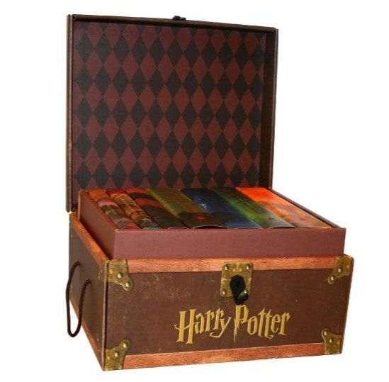 And you'll definitely need to showcase your books with this great hardcover set in its own trunk!