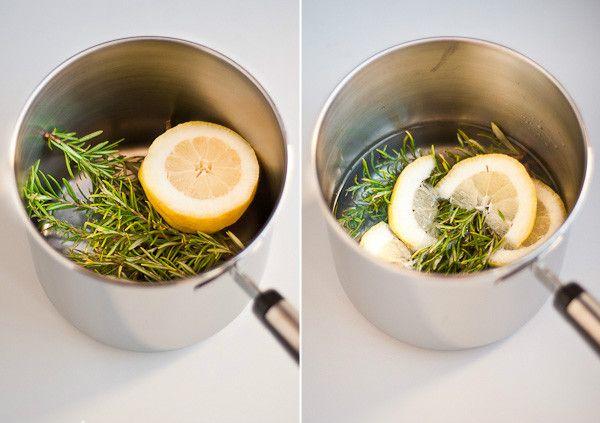 Aromatiza tu casa naturalmente con romero y limón 1