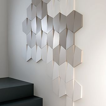 34.5cm Wide X 15cm High. The Trapezium Is Part Of The New 3D Wall