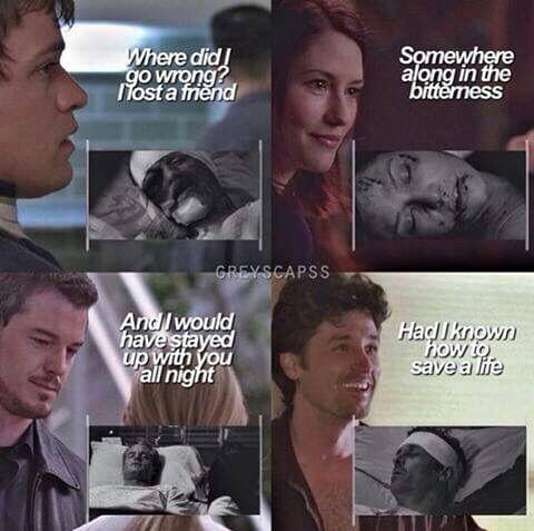 Grey's anatomy...No, I didn't need my heart, it's okay.