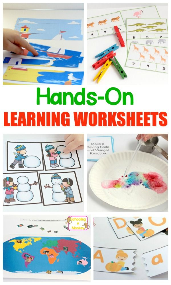 Some things are best explained with printable worksheets. Use these supplemental hands-on learning worksheets to teach kids the skills they need to succeed!
