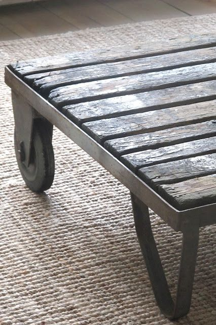 industrial table #diy #upcycle #recycle #furniture @gibmirraum