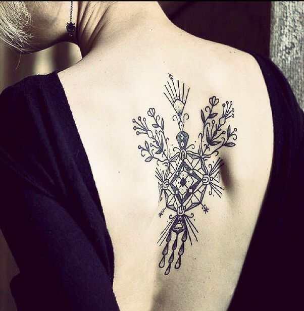 Stunning Floral Back Tattoos For Women: My First Tattoo's Post For 2015