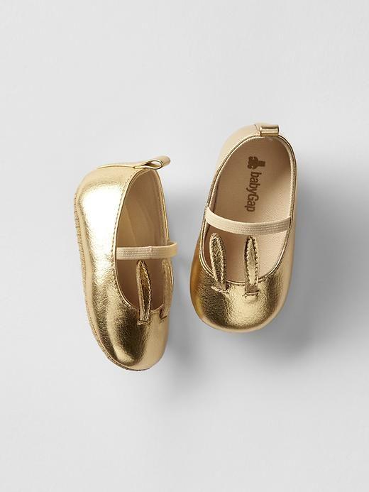 Bunny mary jane flats Product Image