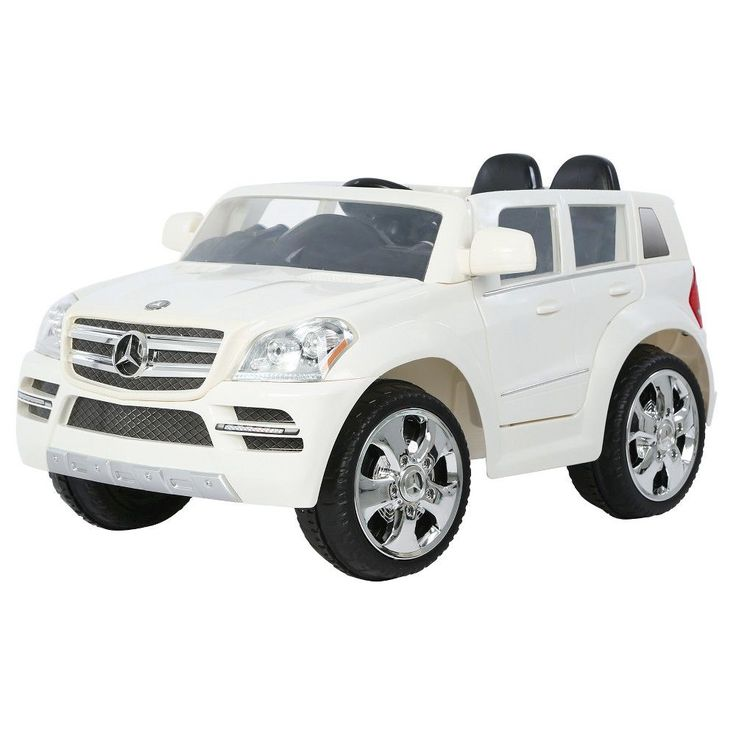 Rollplay Mercedes GL450 Suv Electric Ride On 6V, White