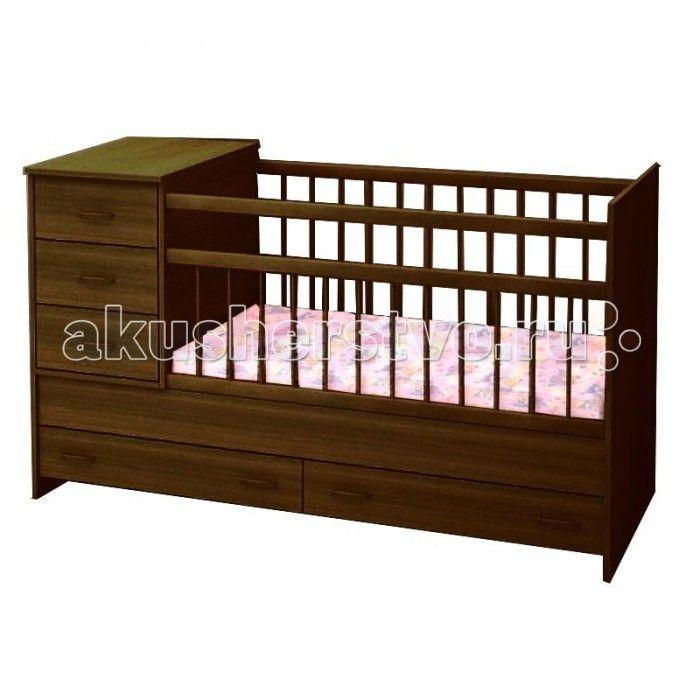 Кроватка-трансформер Топотушки Алиса  Кроватка-трансформер Топотушки Алиса   Удобная и функциональная детская кроватка-трансформер Алиса предназначена для новорожденных детей и используется до 7-10 лет. Высокое качество отделки, сохраняющее природный рисунок дерева. Для окраски применяются лаки, не содержащие вредных для здоровья ребенка веществ.   Особенности:  Кровать изготовлена из натуральной древесины – массив березы (обеспечивает высокую прочность и долговечность изделию)  Обработана…
