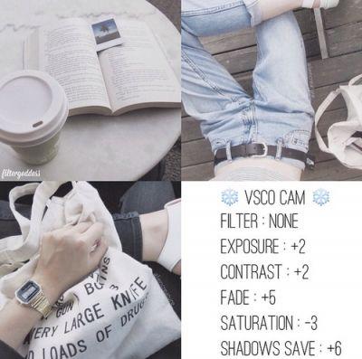 แต่งภาพ Vsco Cam ไม่ต้องใช้ฟิลเตอร์ ปรับภาพโทนสีขาว สะอาด จางๆ อาร์ตๆ ฟ้าสว่าง