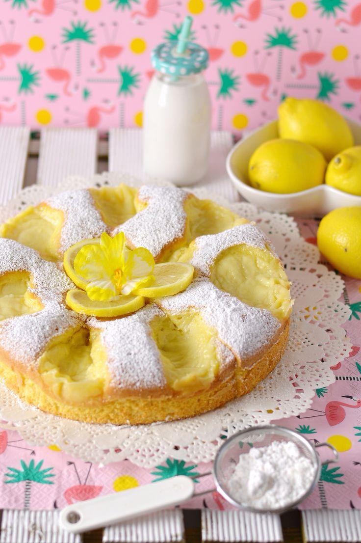 Torta Nua alla crema al limone