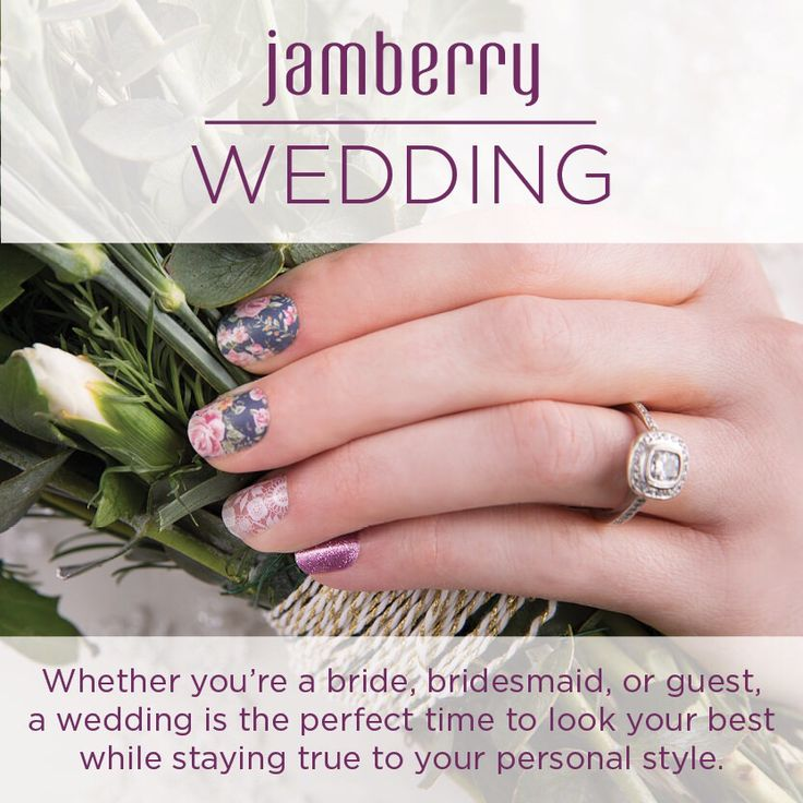 Get perfect wedding nails with out spending nail salon prices!