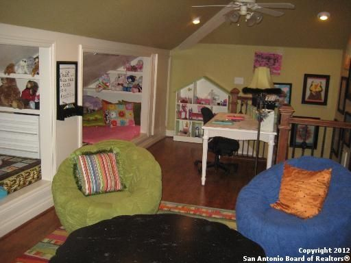 Garage Bonus Room Play Room Ideas | 800 Square Foot Play Room Above Garage.