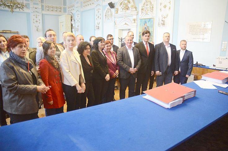 Alianța PSD și ALDE a înregistrat astăzi lista electorală pentru Consiliul Local Cluj-Napoca