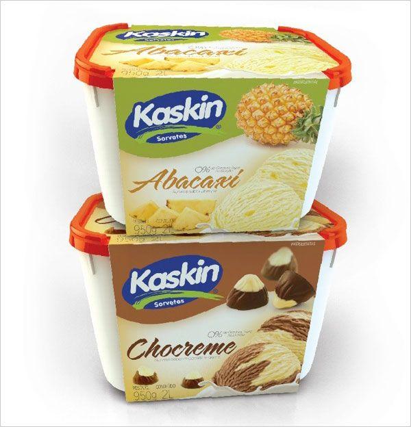 Kaskin Ice cream 3 30+ Coole Eiscreme-Verpackungsdesigns für Inspiration   – Packaging