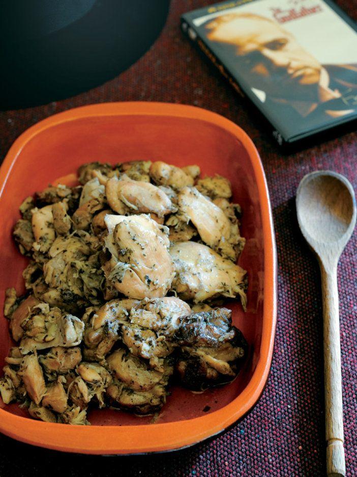 ドン・コルレオーネの退院を祝う、シチリア風 鶏のカチャトーラ|『ELLE a table』はおしゃれで簡単なレシピが満載!