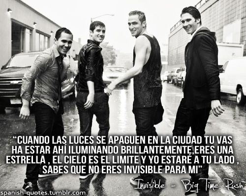 Rushers: Imagenes con frases de Big time Rush