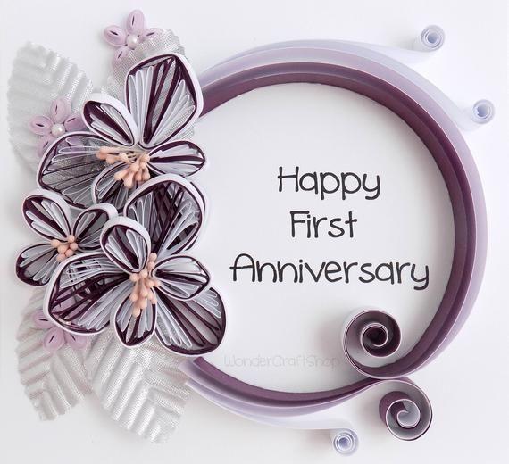First Anniversary Gift Happy Anniversary Gift Anniversary Etsy In 2020 Happy Anniversary Gifts Wedding Anniversary Wishes First Anniversary Gifts
