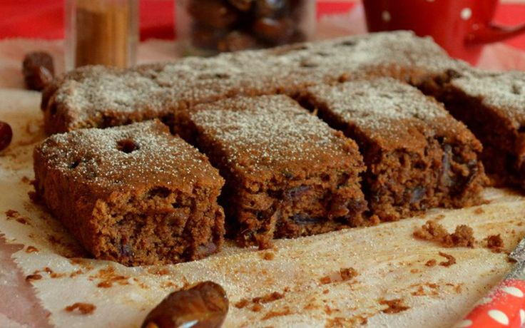 Made from gooey dates, coconut sugar, and whole wheat flour, this delicious cinnamon-spiced pudding is moist and sweet.