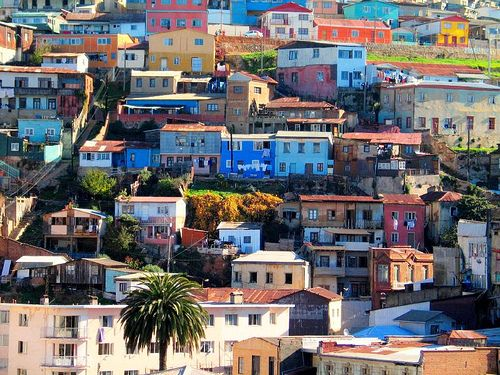 Valparaiso. Where Pablo Neruda lived and someplace I've always dreamed of going. (I want to do Santiago/Valparaiso/Mendoza in one trip).