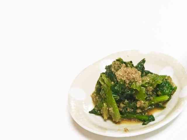 レンジで簡単副菜♥ほうれん草の胡麻和え by あやkitchen♥