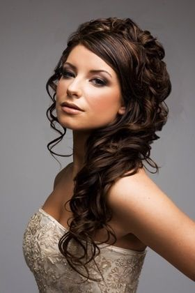 Cabello largo hair ideas and wedding hairs on pinterest - Peinados cabello largo ...