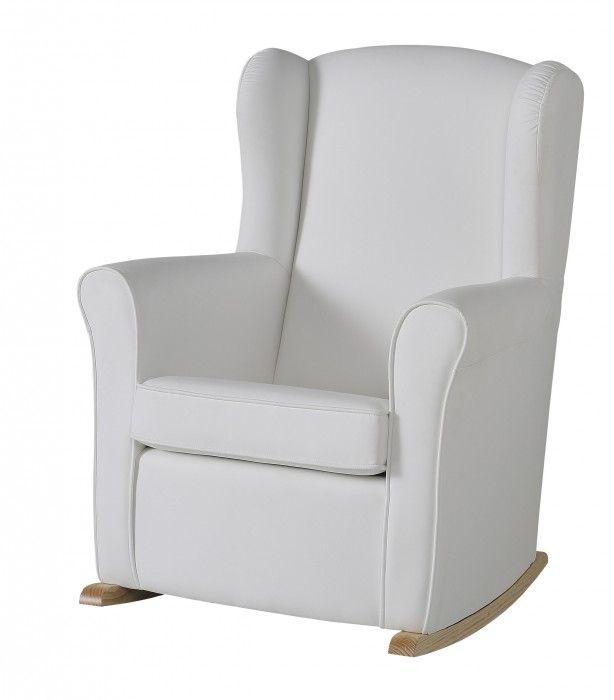 Fauteuil d'allaitement à bascule en similicuir de Micuna, fauteuil d'allaitement confort en similicu - Le Trésor de Bébé