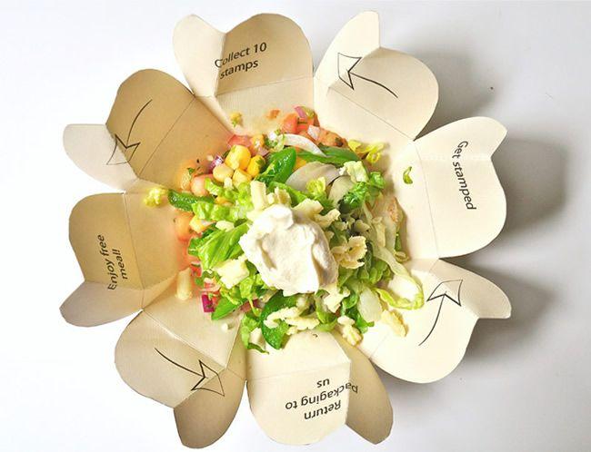 Embalagem de papel para comida