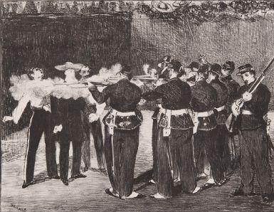 Édouard Manet - L'exécution de Maximilien du...