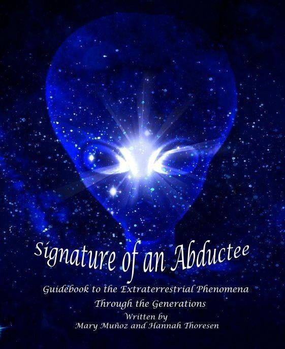 ​I wrote a review for the new book from Mary Muñoz and Hannah Thoresen, SIGNATURE OF AN ABDUCTEE >> http://www.signatureofanabductee.com/reviews